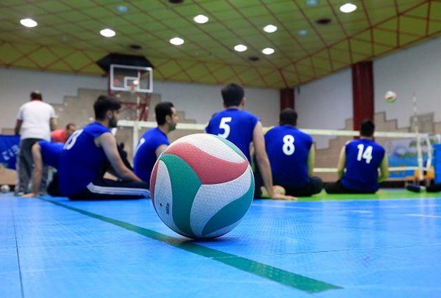 اردوی آمادگی تیم ملی والیبال نشسته مردان برگزار میشود
