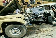 تصادف رانندگی در جاده بوئین بانه 2 کشته و سه مصدوم برجای گذاشت