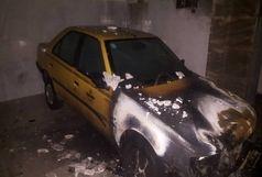 آتشسوزی خودرو در تبریز پنج نفر را مصدوم کرد