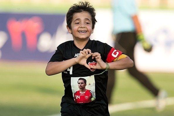 فرزند هادی نوروزی در ورزشگاه وطنی