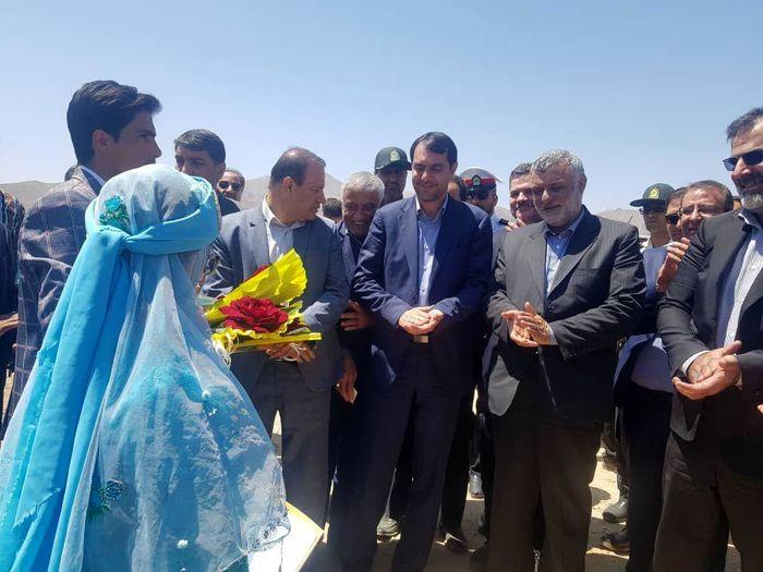 کلنگ زنی مجتمع گلخانه ای در بوانات با حضور وزیر کشاورزی