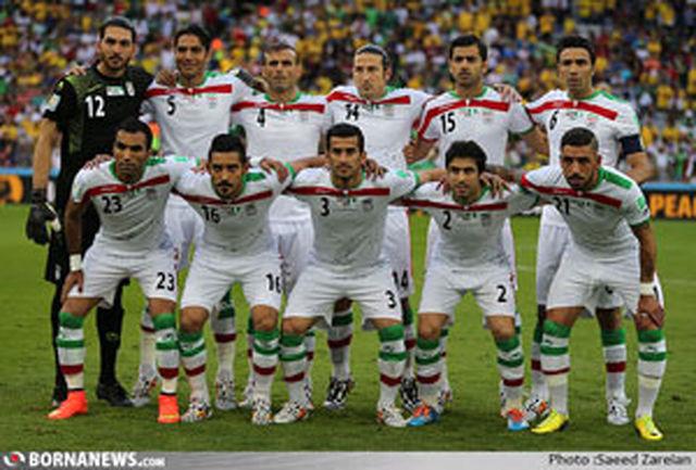 نام تیم ملی ایران در فهرست اولینها ثبت شد