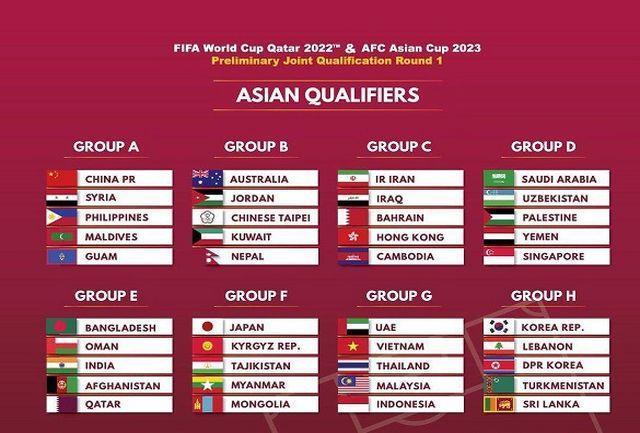 تاریخ بازیهای تیم ملی فوتبال ایران مشخص شد