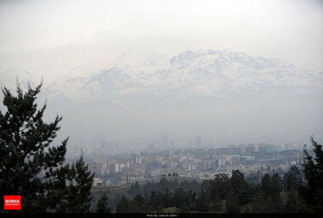 هوای ۳ شهرستان کرمانشاه ناسالم است