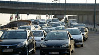 وضعیت ترافیک معابر تهران در بیستویکم فروردین