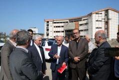 وزیر علوم از طرحهای عمرانی دانشگاه مازندران بازدید کرد