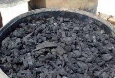 یک واحد غیرمجاز تولید زغال در قرچک پلمب شد