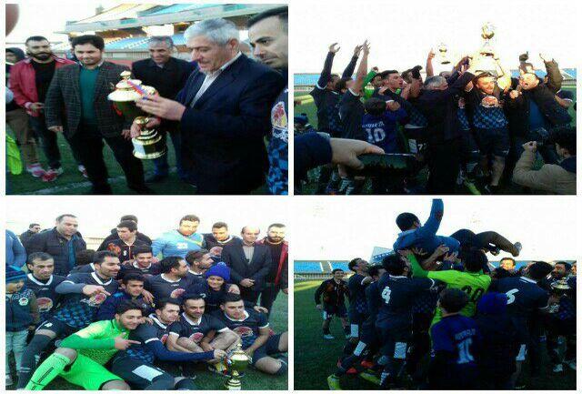 راهیابی پیام سرخه به لیگ دسته 3 فوتبال کشور