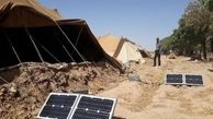 تحویل سامانه های خورشیدی عشایری قابل حمل به 1000 خانوار عشایری