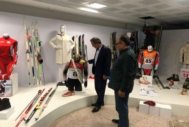 عبدی افتخاری از موزه ورزش بازدید کرد