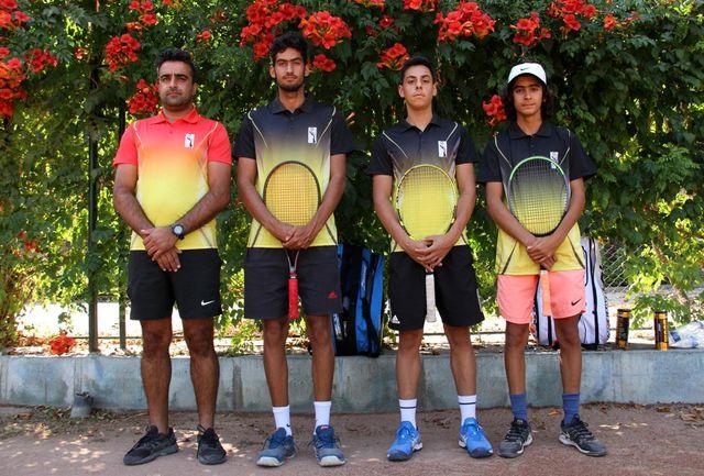راهیابی تیم آکادمی تنیس مومن زاده به مرحله یک چهارم جام حذفی کشور