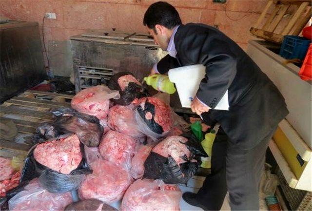 کشف 130 کیلوگرم گوشت فاسد در کرمانشاه