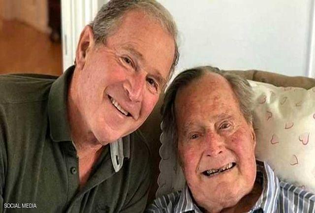 رکورد تاریخی جرج بوش پدر در آمریکا