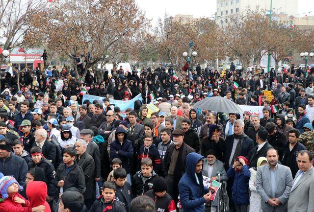 راهپیمایی  22 بهمن در نسیم شهر