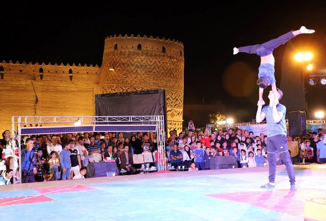 برگزاری جشنواره ورزشی درارگ کریم خان زند