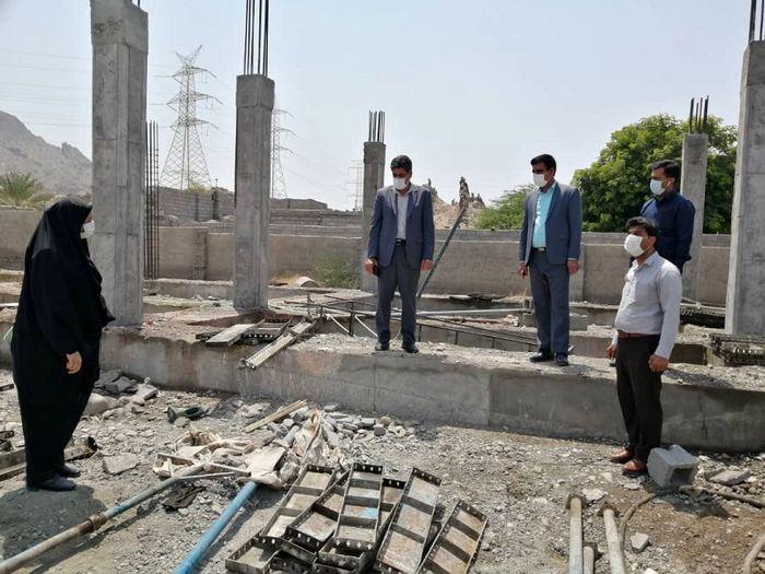 ساخت فضای آموزشی ایمن برای 230 دانش آموز علی آباد میناب