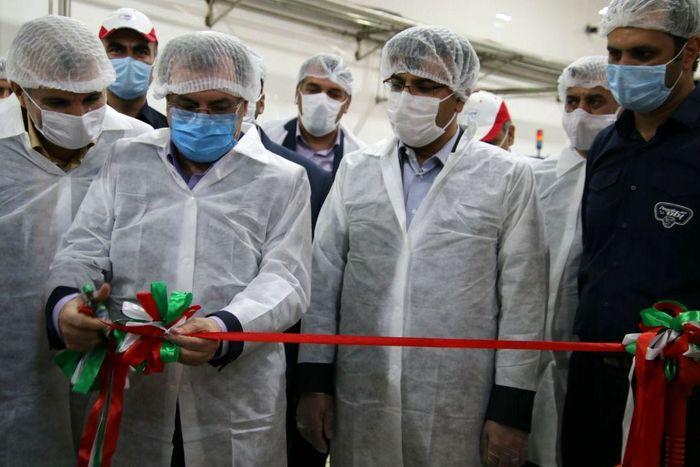 افتتاح خط تولید ESL لیوانی در پگاه تهران