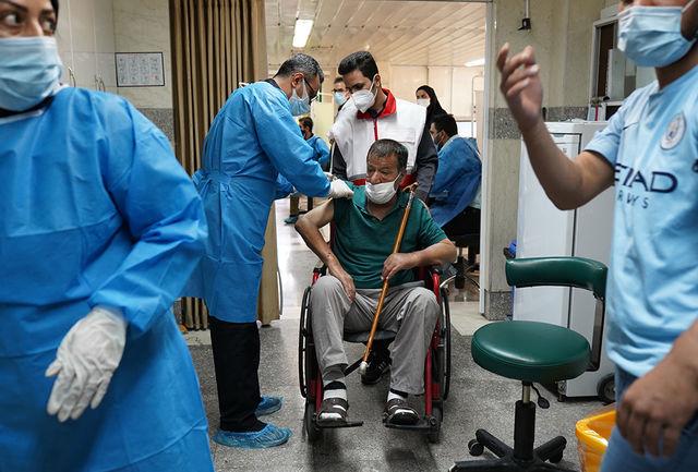 اتمام واکسیناسیون مددجویان وسالمندان تحت پوشش بهزیستی در البرز
