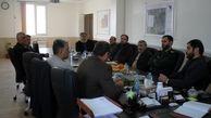 نشست اعضای هیات مدیره و مدیرعامل شرکت شهرک صنعتی صفادشت