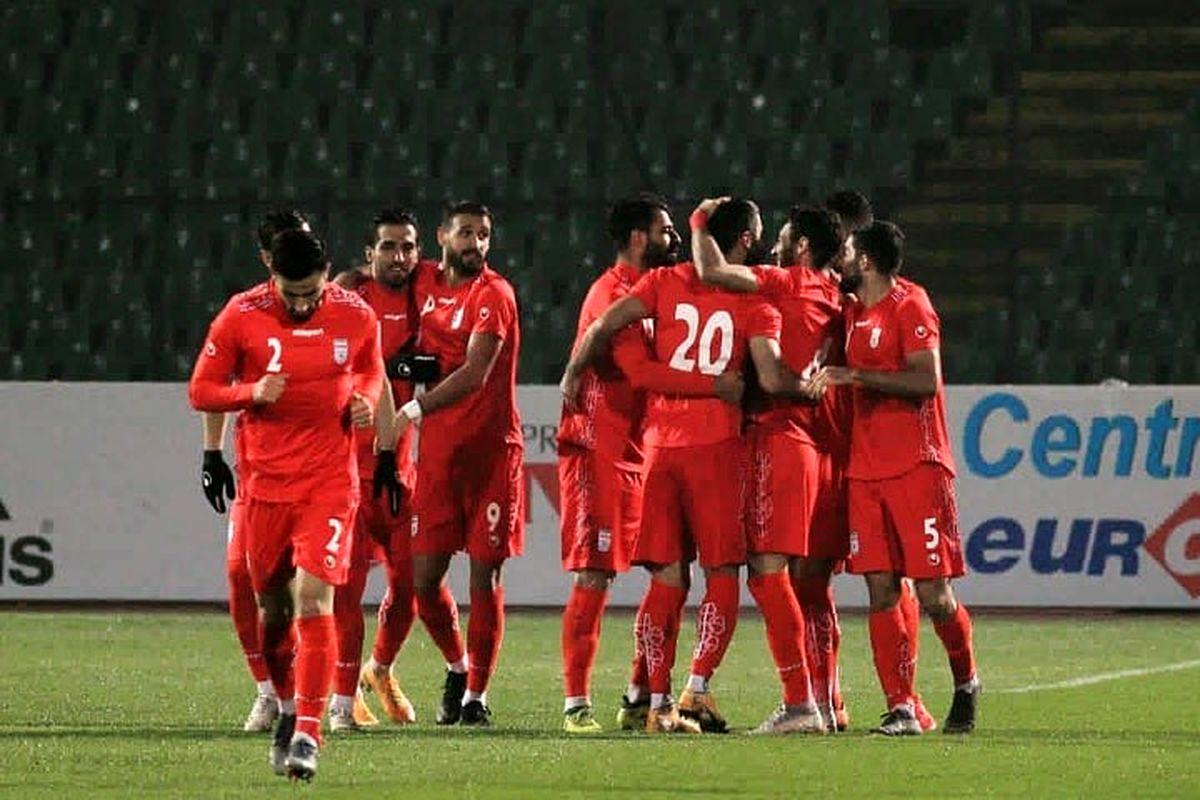 تیم ملی در مسیر بازگشت به تهران