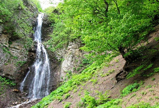 آبشار آلوچال ؛عروس شاهرود