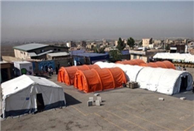 افتتاح سومین بیمارستان صحرائی چهارمحال و بختیاری در چلگرد