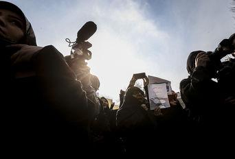 تجمع در اعتراض به دستگیری «مرضیه هاشمی»