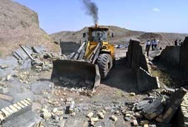 بیش از2 هزار مترمربع از اراضی ملی شهرستان حاجی آباد رفع تصرف شد
