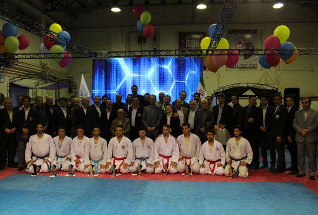 گیلان برنده مسابقات کاراته جام ستارگان شد
