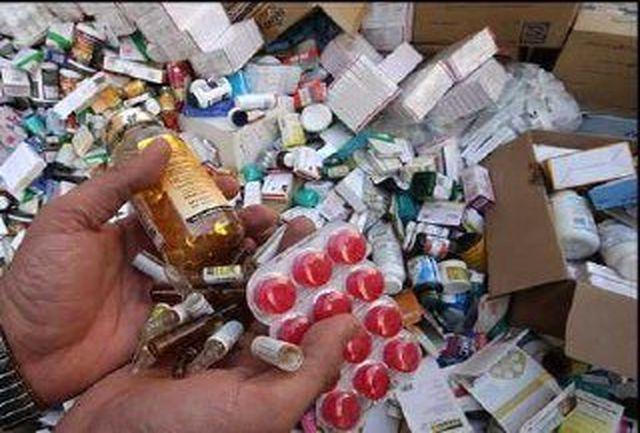 کشف و معدوم سازی یک محموله بزرگ داروی قاچاق