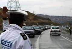 محور صالح آبادبه سمت ایلام به سبب بار ترافیکی یکطرفه شد