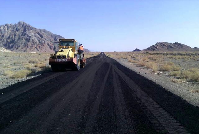 عملیات احداث و آسفالت راه روستایی آنتنی روستای نصرآباد