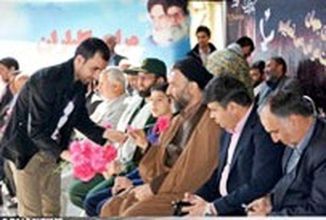 همایش پیاده روی روز شهدا در ملارد برگزار شد