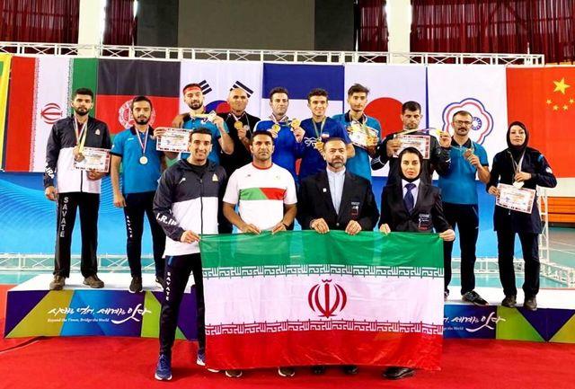 ایران، مقتدرانه قهرمان ساواته قاره آسیا شد