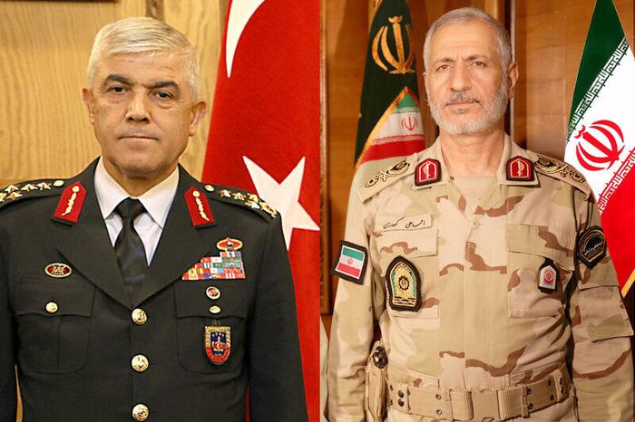 تأکید فرماندهان ژاندارمری ترکیه و مرزبانی ایران بر روند تعاملات مرزی