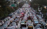 ترافیک نیمهسنگین در آزادراه تهران-کرج