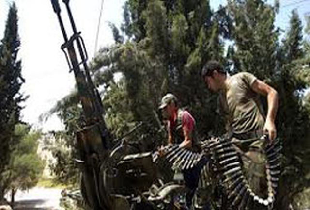 درگیری شدید ارتش سوریه با تروریستها در حومه دمشق، لاذقیه و حمص