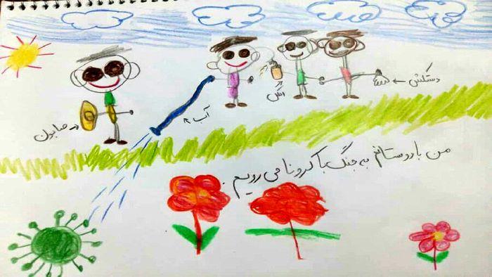 پر کردن اوقات فراغت کودکان با مسابقه نقاشی