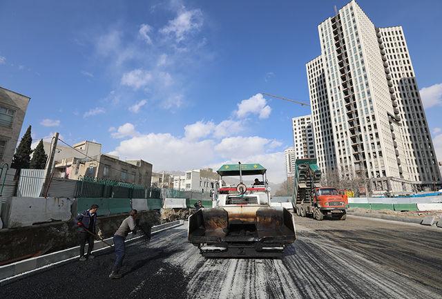 پروژه احداث تقاطع بزرگراه شهید حکیم با بلوار المپیک به مرحله بهره برداری نزدیکتر شد