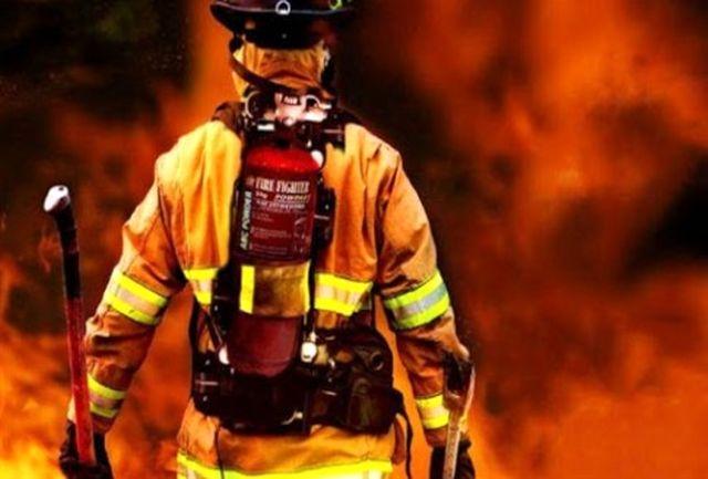 مرگ آتش نشان سیستانی در حین ماموریت