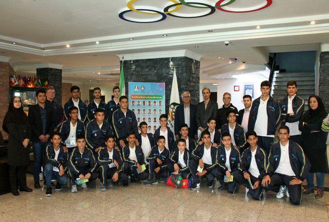 دومین مرحله از طرح بورسیه ورزشی آکادمی ملی المپیک (ویژه پسران) آغاز شد