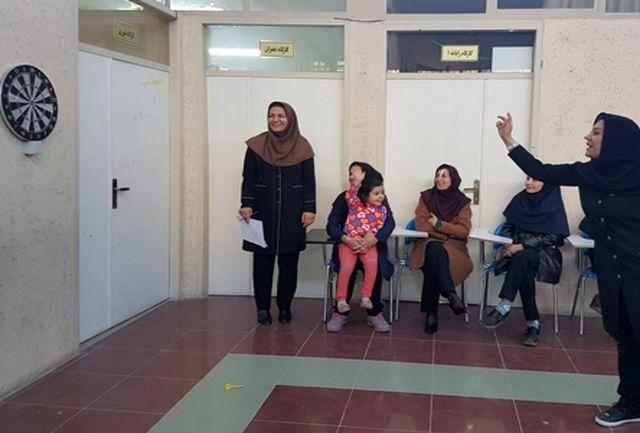 """برگزاری مسابقه دارت بانوان همکار آموزش فنی و حرفه ای شهرستان خرم آباد"""""""