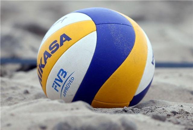 یزد میزبان هفتههای سوم و چهارم لیگ برتر والیبال ساحلی