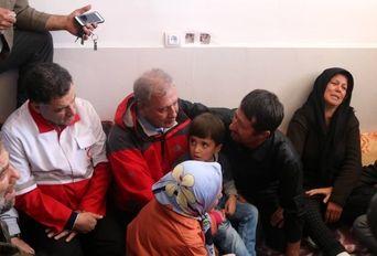 بازدید سخنگوی دولت از مناطق زلزله زده آذربایجان