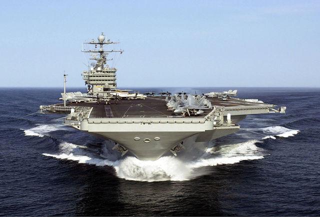 ورود ناو هواپیمابر هسته ای آمریکا به مدیترانه برای عملیات در سوریه