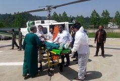 انتقال پسر 16 ساله تالشی به بیمارستان رشت