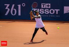 رقابتهای جدول اصلی تنیس جونیورز اصفهان آغاز شد