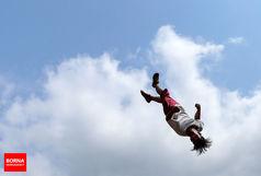 پارکورکار ارومیهای فینالیست مسابقات قهرمانی پارکور کشور شد