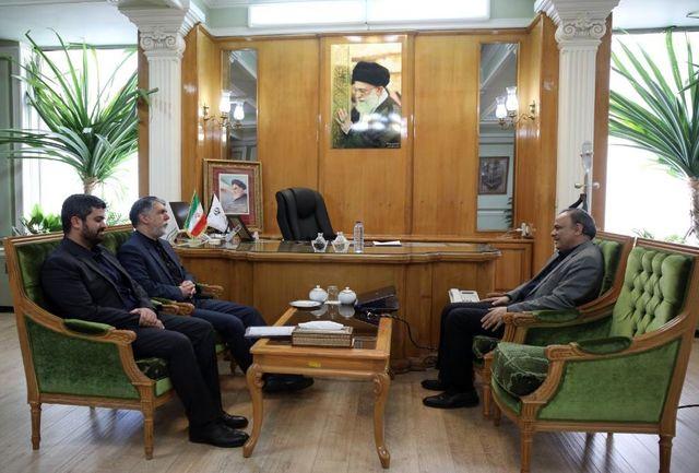 وزیر فرهنگ و ارشاد با استاندار خراسان رضوی دیدار و گفتوگو کرد