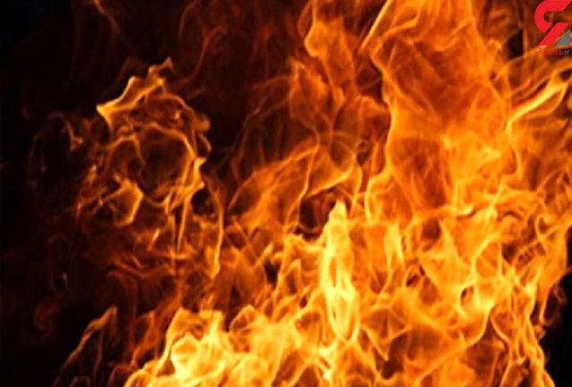 آتش سوزی گسترده درکارخانه لبنیاتی میهن/ شهروندان نزدیک محل حادثه نشوند